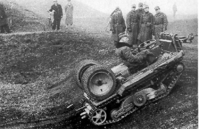 A German wheel-cum track prototype
