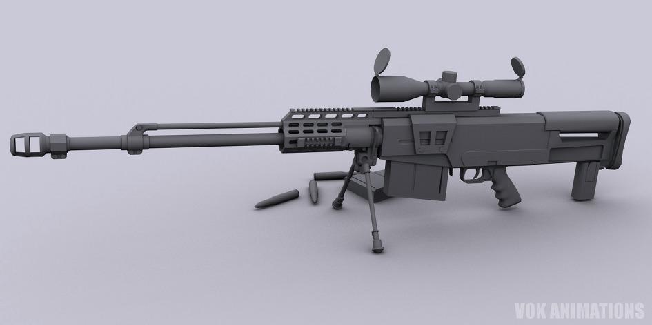 Accuracy International AS50 저격총