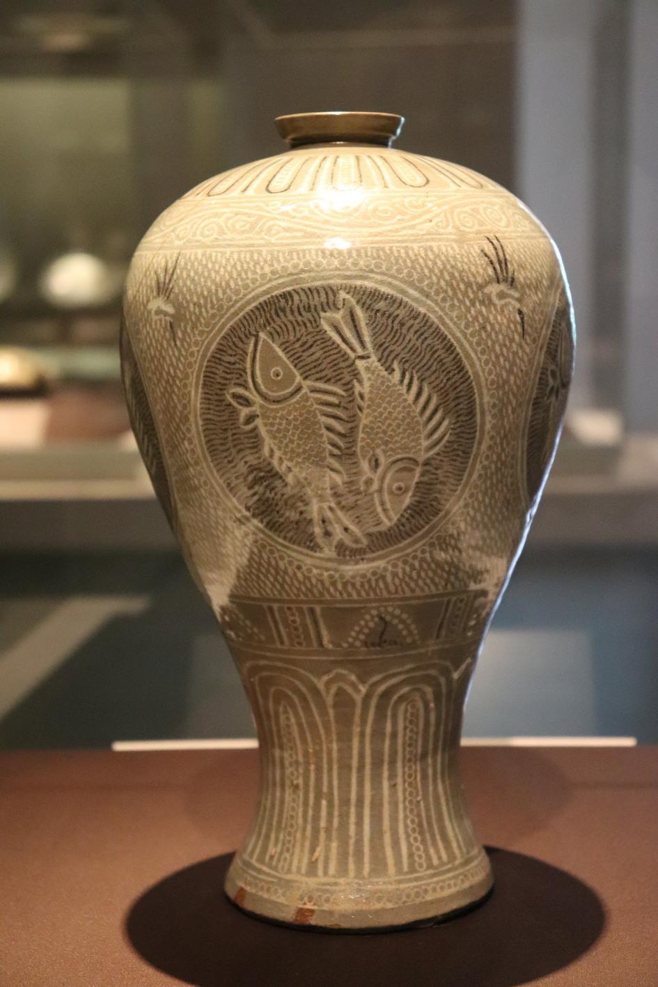 분청사기 상감어문 매병(보물 제347호)-국립중앙박물관