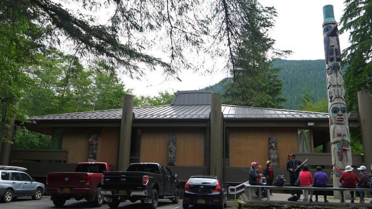 2018. 7/18 미국 알래스카 크루즈 여행 엿새째 셋글: 케치칸3-도심지3(토템유물센터, 연어사닥다리)