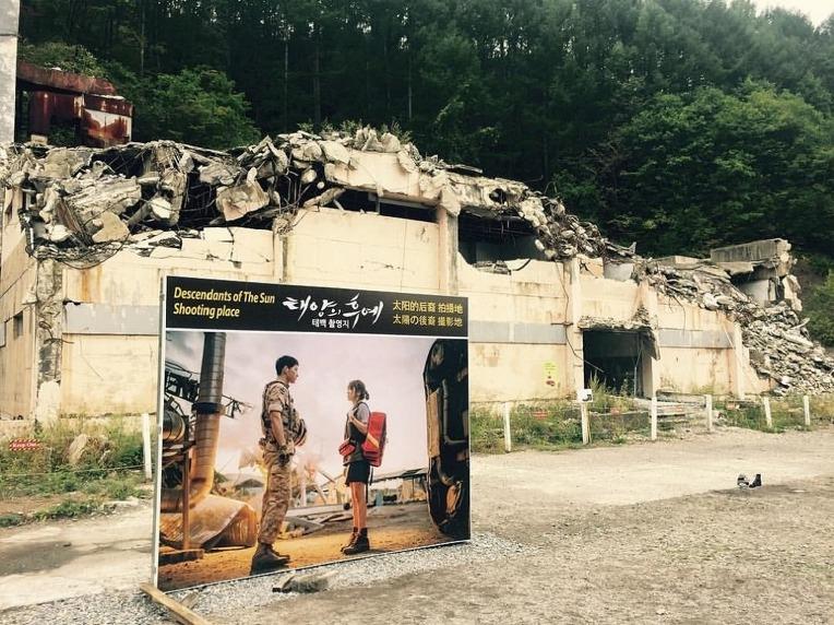 태양의 후예 우르크 태백 부대의 M48A3K 패튼 전차 - The Descendants of the Sun Taebaek Set M 48A3K Patton Tank