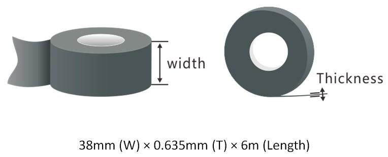 Vinyl Mastic Tape : VA-38