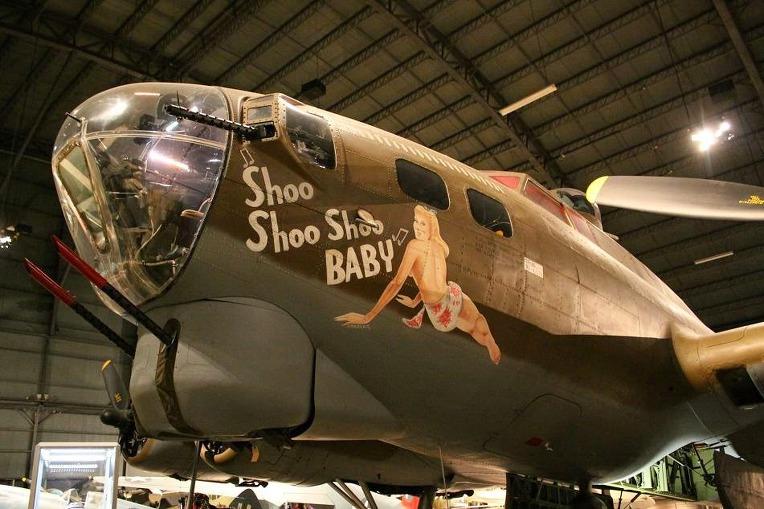 미 육군 항공대 보잉 B17G 폭격기 슈 슈 슈 베이비- USAAF Boeing B17G Bomber Shoo Shoo Shoo Baby