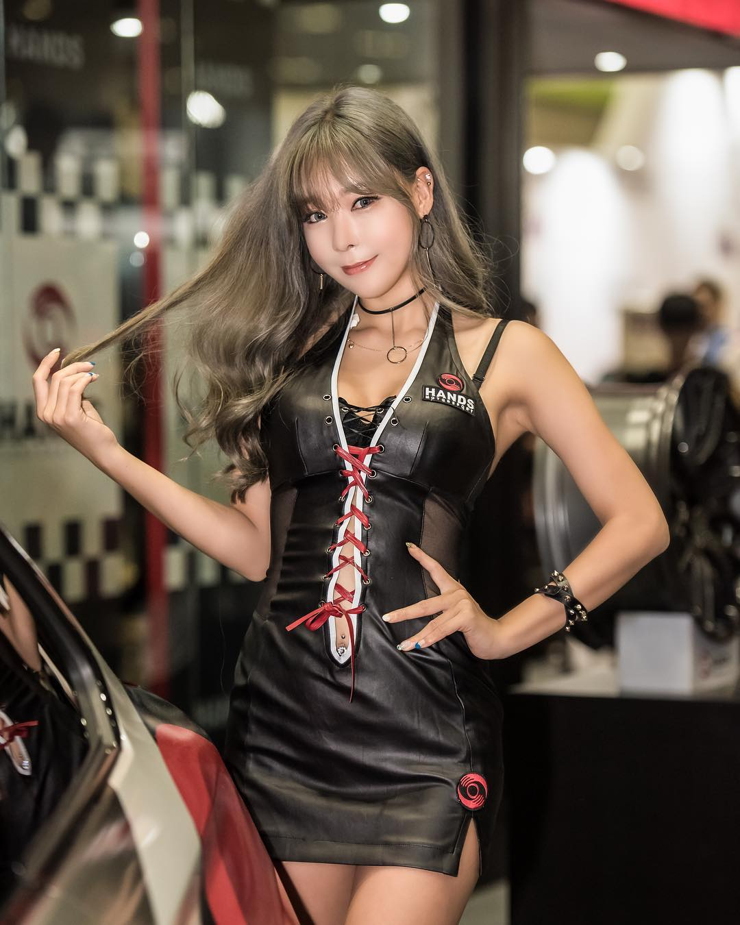 style girl who is Korean model