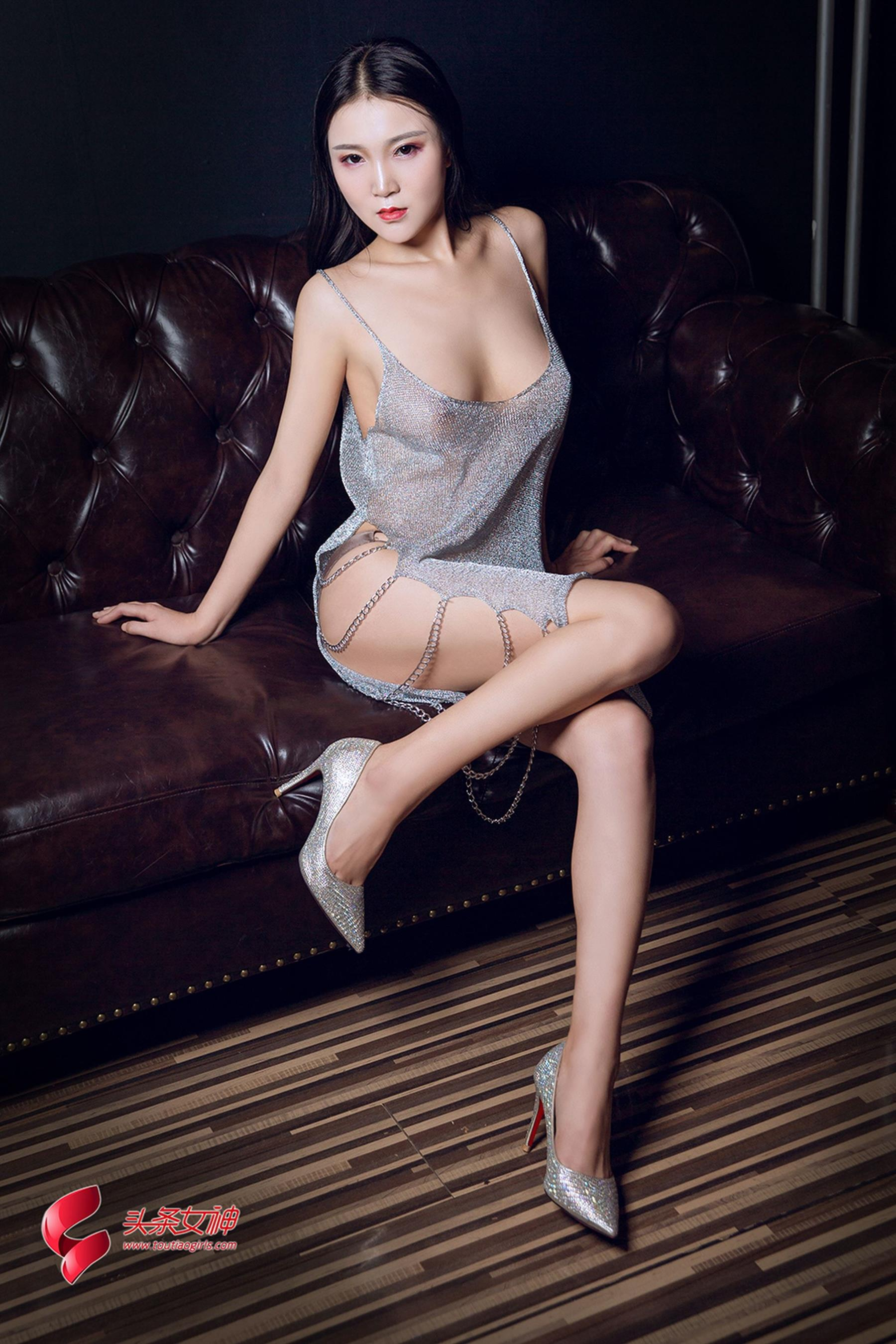 hot Chinese woman in sexy wear